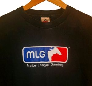 4/$25 Major Leauge Gaming TShirt MLG Black L